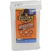 "GORILLA GLUE CO 30Pk 4"" Mini Glue Sticks 3023003 Unit: EACH"