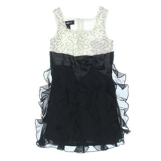 Amy Byer Girls Sequined Party Dress - 5