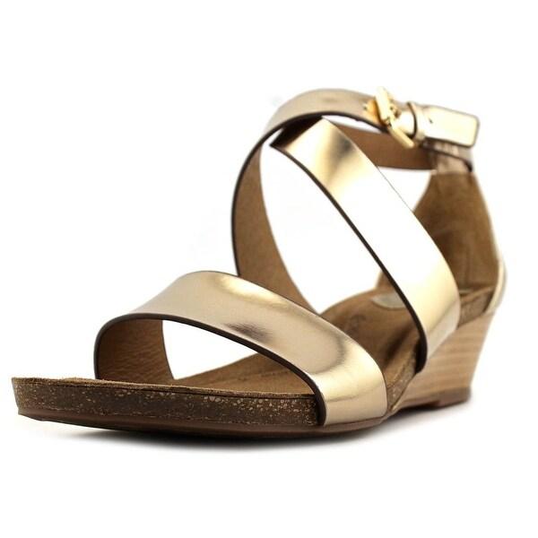 Sofft Vita Women Gold Metallic Sandals