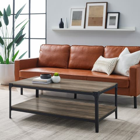 Carbon Loft Witten 46-inch Angle Iron Coffee Table