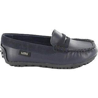 Umi Girls' Morie Navy Napa