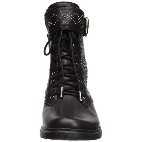 Vince Camuto Womens tanowie Fabric Closed Toe Ankle Fashion Boots