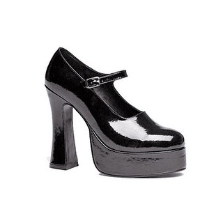 Womens Black Eden High Heel Shoes