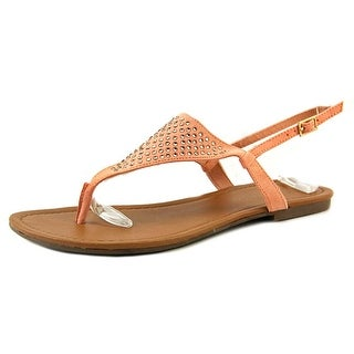 Rampage Rinnali Women Open Toe Canvas Thong Sandal