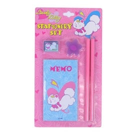 Lovely Kitty 5 Piece Stationery Set