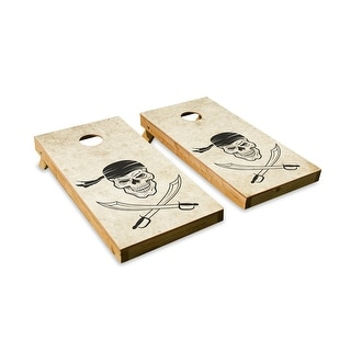 Jolly Roger Cornhole Board Set