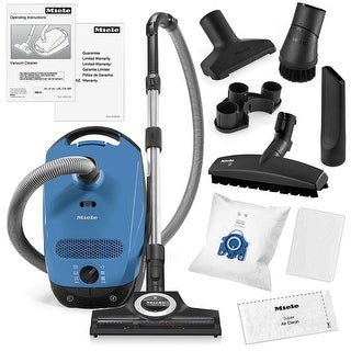 Link to Miele Classic C1 Turbo Team Canister Vacuum Cleaner + STB 305-3 Turbobrush + SBB-3 Parquet Floor Brush + More Similar Items in Vacuums & Floor Care