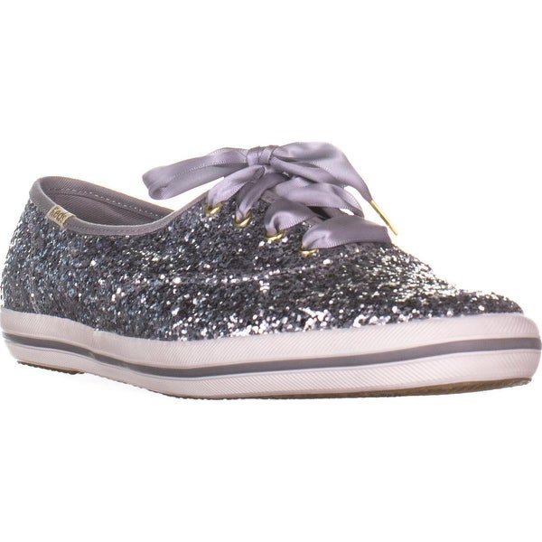 93a4853c610 Shop Keds kate spade new york Champion Silver Glitter Sneakers ...