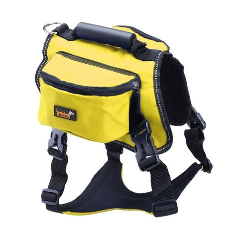 ONDOING Authorized Dog Backpack Bag Pet Carrier Bag for Hiking Camping
