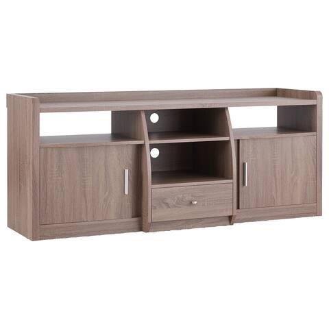 Furniture of America Zove Modern 63-inch 4-shelf Entertainment Center