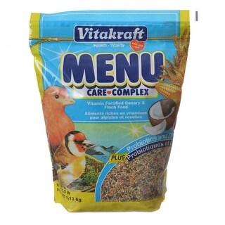 Vitakraft Menu Care Complex Canary & Finch Food 2 lbs