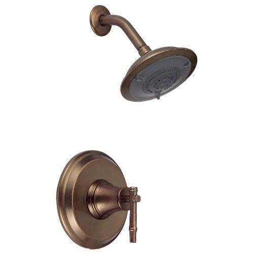 Shop danze d500545rbdt shower only faucet trim kit showerhead dstrs bronze no valve distressed for Danze bathroom faucets reviews