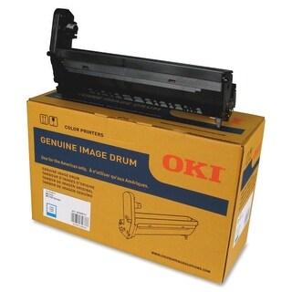 OKI 45395711 Oki Cyan Image Drum - 30000 Page - 1 Pack