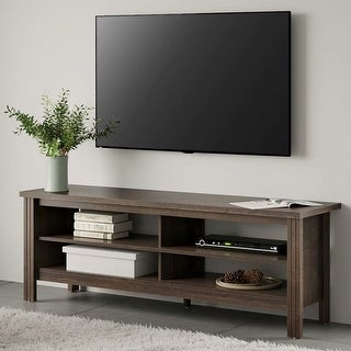 TV Stand for 65 inch TV Entertainment Center,Espresso-60 inch - 65 inches (65 inches - Brown) -  WAMPAT