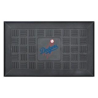 Los Angeles Dodgers Medallion Door Mat
