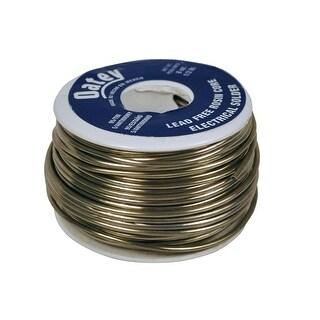Oatey 53171 Lead-Free Rosin Core Wire Solder, 1/2 lbs