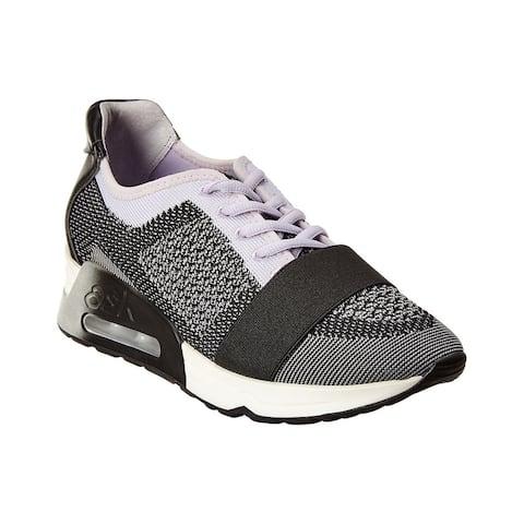 Ash Lacey Sneaker - MARBLE/BLACK/LAVENDER