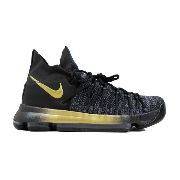 hot sale online 8d21a 1b053 ... basketball shoes big kid textured 5d8b4 1fa19 netherlands nike menx27s zoom  kd9 elite black tour yellow blue fury 712cf e6a8a