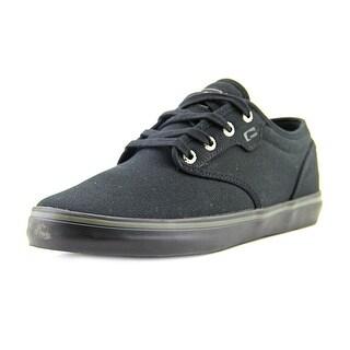 Globe Motley Men Round Toe Canvas Black Skate Shoe