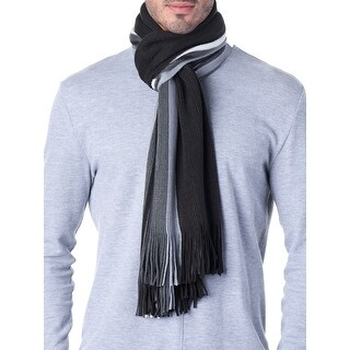 Link to Hammer Anvil Mens Ribbed Knit Soft Winter Scarf Unisex - One Size Similar Items in Scarves & Wraps