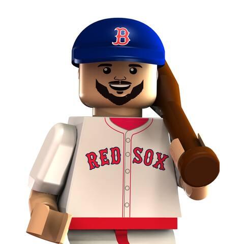Boston Red Sox OYO Sports MLB Jarrod Saltalamacchia Beard Minifigure - multi