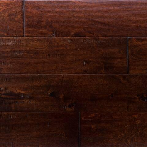 "Miseno MFLR-CIMARRON-E Riverbed Engineered Hardwood Flooring - 5"" - Birch Cimarron"