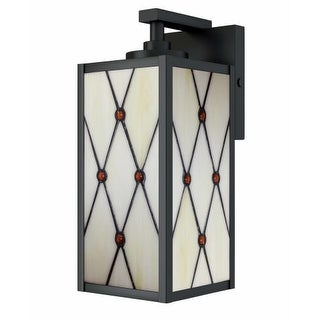 """Dale Tiffany STW16136 Single Light 12-1/2"""" High Outdoor Wall Sconce"""