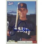 Jesse Ibarra San Francisco Giants 1996 Best Cards Autographed Card  This item comes with a certific