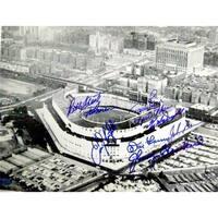 New York Yankees Yankee Stadium Autographed Photo 11X14 Signed By