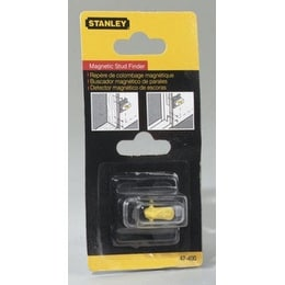 "Stanley 47-400 Goldblatt Magnetic Stud Finder, 1-3/8"" X 1-3/8"" X 1-1/4"""