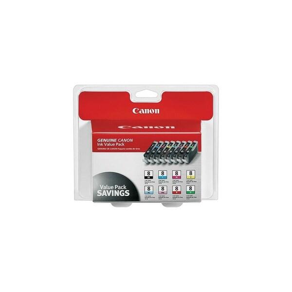 Canon CLI-8 8-Color Multipack Ink Cartridge (Single Pack) CLI-8 8 Color Multipack Ink Cartridge