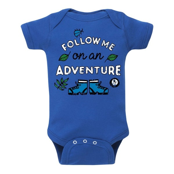 Follow Me On An Adventure - Infant One Piece