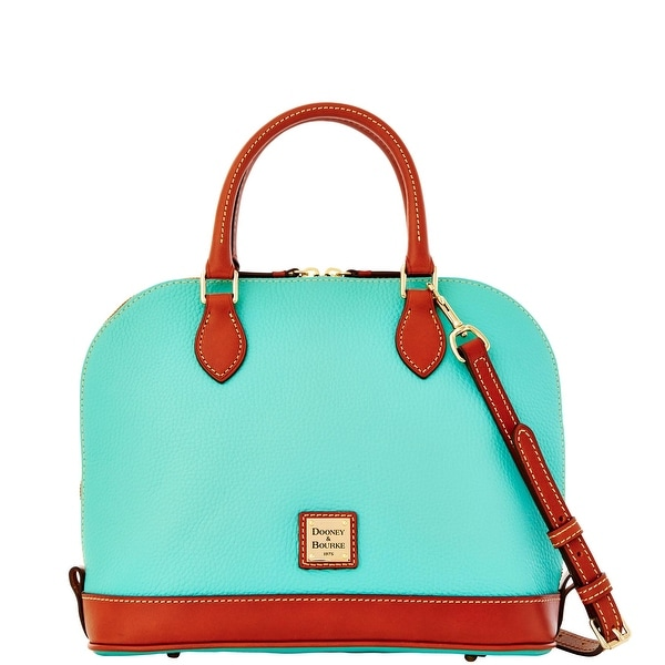 Dooney & Bourke Pebble Grain Zip Zip Satchel (Introduced by Dooney & Bourke at $198 in Jan 2015) - Mint