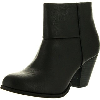 Reneeze Womens Baba-03 Fashion Comfy Stacked Chunky Heel Side Zipper Ankle Bootie