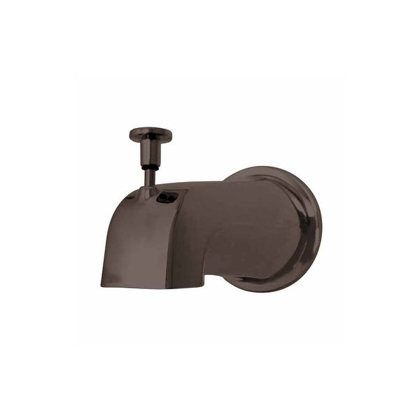 Shop Kingston Brass K188e 5 Tub Spout With Diverter Flange And 1 2