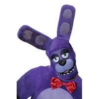 Five Nights at Freddy's Bonnie Costume 3/4 Mask Adult Standard - Purple