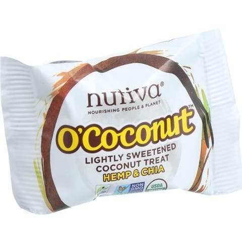Nutiva - Coconut & Hemp Chia Bar ( 24 - .5 OZ)