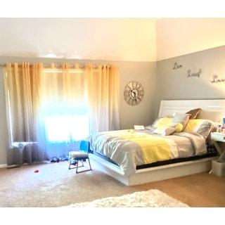 Chic Home Serenity Colorblock Microfiber 10-piece Comforter Set