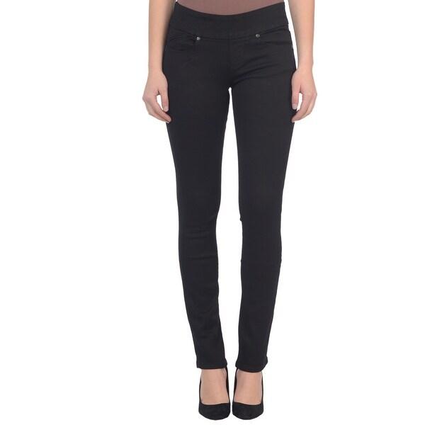 Lola Pull On Straight Jeans, Catherine-BLK