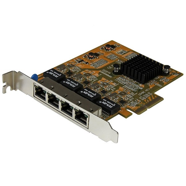 Startech St1000spex43 4-Port Pci Express Gigabit Network Adapter Card