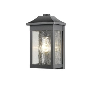Artcraft Lighting SC13100 Morgan Single Light Outdoor Wall Sconce