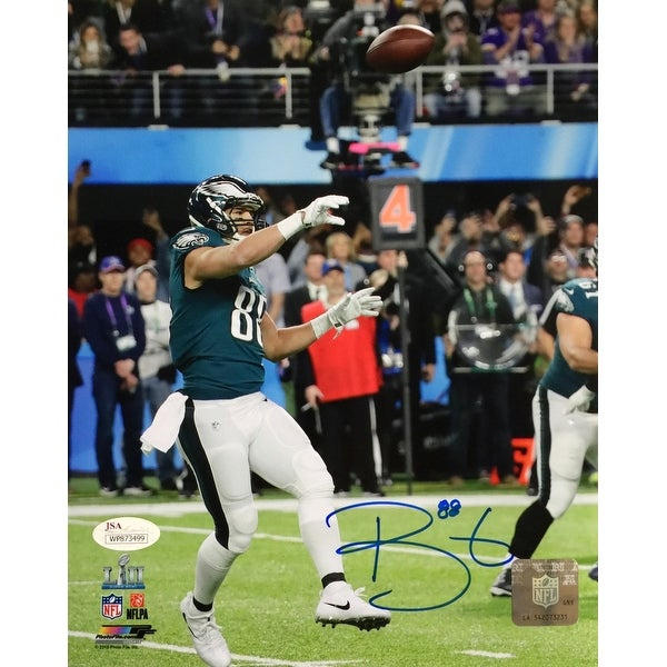 5b143ca7a Trey Burton Signed 8x10 Eagles Super Bowl LII Philly Special Photo JSA