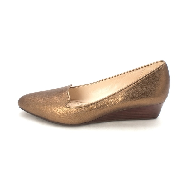 Cole Haan Womens Corasam Closed Toe Wedge Pumps - 6