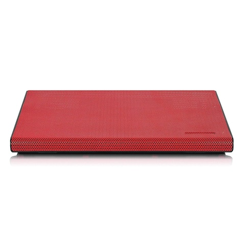 Aluratek ACP01FR Aluratek Slim USB Laptop Cooling Pad (Red) - 2 Fan(s) - 800 rpm - Metal - 2 x 11 x 14.3 - Red