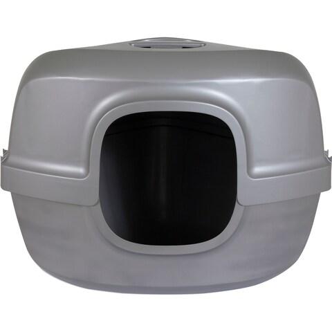Petmate Hooded Corner Litter Pan