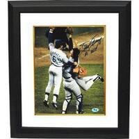 Steve Garvey signed Los Angeles Dodgers 8x10 Photo Custom Framed 6 81 WSC 1981 World Series Champs