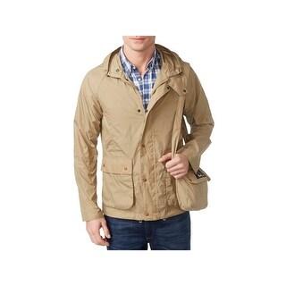 Barbour Mens Military Jacket Waterproof Packable - XL
