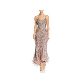 Aidan Mattox Womens Evening Dress Embellished Cocktail