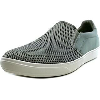 Skechers Go Vulc Mosey Men Round Toe Canvas Gray Sneakers