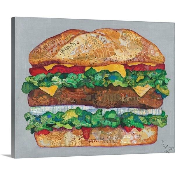 """""""Hamburger"""" Canvas Wall Art"""